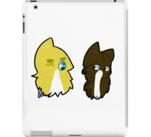 jar media- alex and ruben as cats iPad Case/Skin
