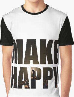 Bo Burnham: Make Happy Graphic T-Shirt