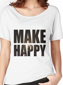 Bo Burnham: Make Happy Women's Relaxed Fit T-Shirt