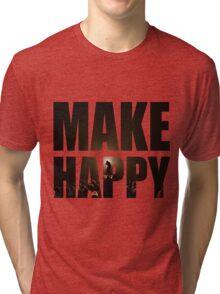 Bo Burnham: Make Happy Tri-blend T-Shirt