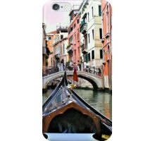 Gondola View iPhone Case/Skin