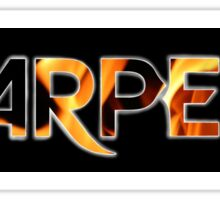 Earper Black Sticker