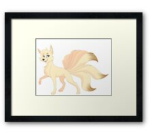 Ninetales (Pokemon) Framed Print