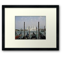 Venice View Framed Print