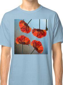 Poppy design Classic T-Shirt