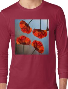 Poppy design Long Sleeve T-Shirt