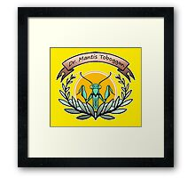 dr. mantis tobbaga Framed Print