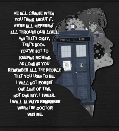 When the Doctor was Me, Doctor Who Sticker