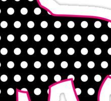 Polka Dot Great Dane Sticker