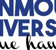 Monmouth University Blue Hawks Sticker