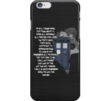 When the Doctor was Me, Doctor Who iPhone Case/Skin