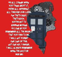 When the Doctor was Me, Doctor Who Kids Tee
