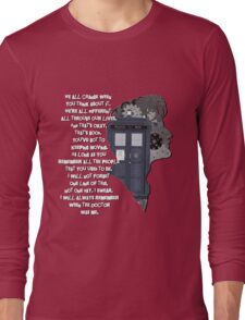 When the Doctor was Me, Doctor Who Long Sleeve T-Shirt
