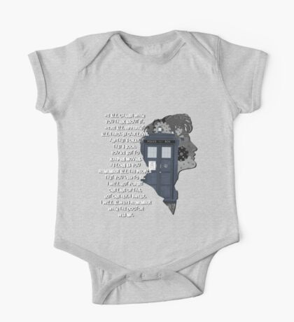 When the Doctor was Me, Doctor Who One Piece - Short Sleeve