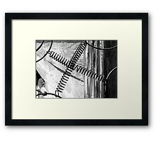 DREAM WIRE (thanks to Dennis for this clever name) Framed Print