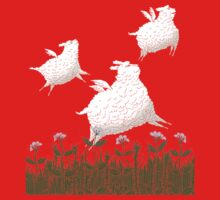 Flying Sheep Meadow Larks Kids Clothes