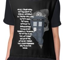 When the Doctor was Me, Doctor Who Chiffon Top