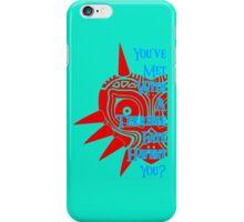 Zeldas mask iPhone Case/Skin