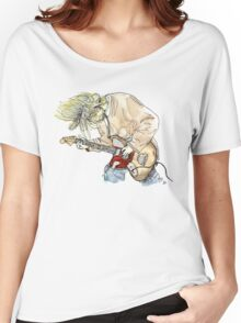 Grunge Doodle/Watercolour Women's Relaxed Fit T-Shirt