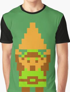 Legend of Zelda: Triforce of Courage Graphic T-Shirt