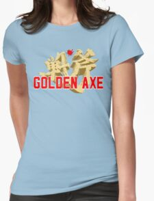 Golden Axe Womens Fitted T-Shirt
