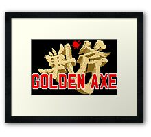 Golden Axe Framed Print