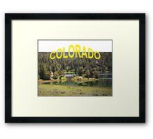 Colorado Outdoors Framed Print