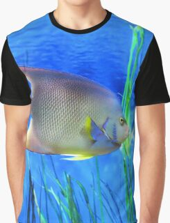 Into Blue - Tropical Fish by Sharon Cummings Graphic T-Shirt