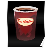 Tim Horton's Cup Vector Poster