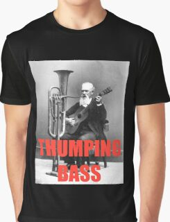 THUMPING BASS - Origins of House Music Graphic T-Shirt