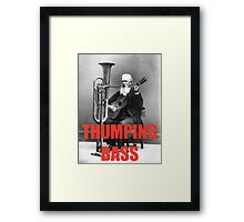 THUMPING BASS - Origins of House Music Framed Print