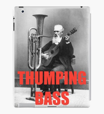 THUMPING BASS - Origins of House Music iPad Case/Skin