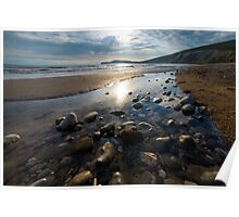 Sunset at Compton Beach Poster