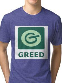 7 deadly sins, social media, greed, pinterest Tri-blend T-Shirt