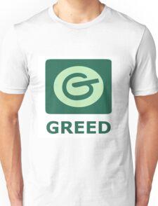 7 deadly sins, social media, greed, pinterest Unisex T-Shirt