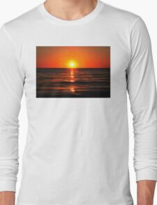Bright Skies - Sunset Art Long Sleeve T-Shirt