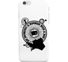Eleventh Doctor Silhouette iPhone Case/Skin