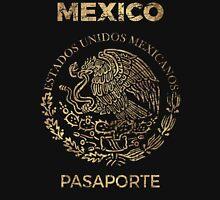 Mexico Vintage Passport Unisex T-Shirt