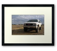 Lifted '00 Sierra Framed Print