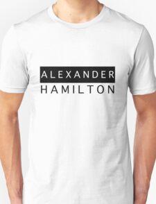 Alexander Hamilton Chic Unisex T-Shirt