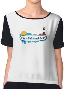 Fire Island - New York. Chiffon Top