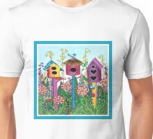 Summer Garden (square) Unisex T-Shirt