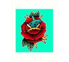 ocarnica rose Art Print