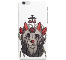Satanic wolf iPhone Case/Skin