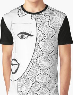 Dots and Waves Graphic T-Shirt