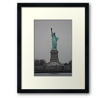 Statue of Liberty, NYC Framed Print