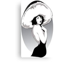 20's Portrait Canvas Print