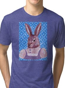 Vintage Rabbit  Tri-blend T-Shirt