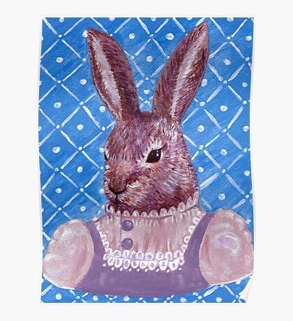 Vintage Rabbit  Poster
