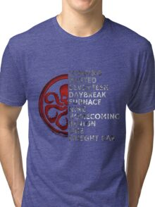 Winter Soldier Activation Code words 2 Tri-blend T-Shirt